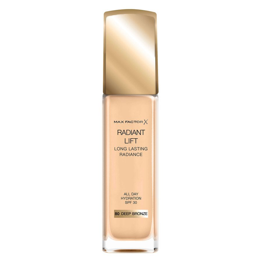 Max Factor Radiant Lift Foundation, #80 Deep Bronze (30 ml)