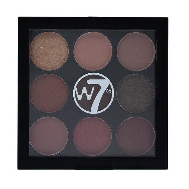 W7 Cosmetics The Naughty Nine Eyeshadow Lidschattenpalette, Mid-Summer Nights