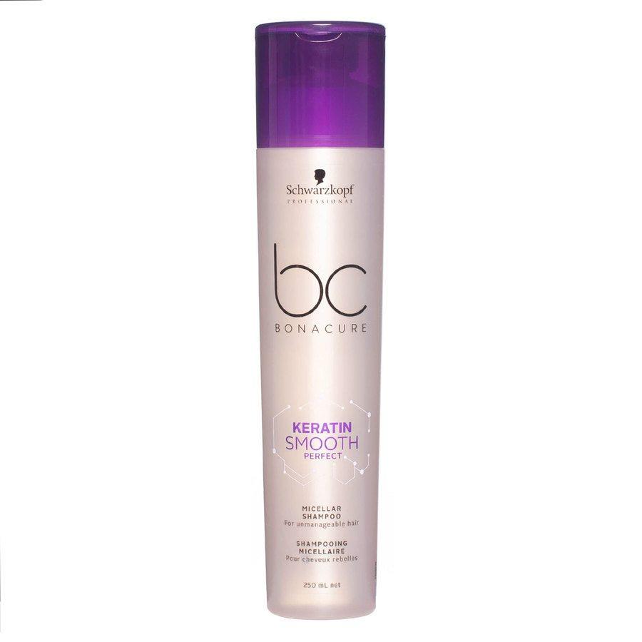 Schwarzkopf BC Bonacure Keratin Smooth Perfect Micellar Shampoo (250 ml)