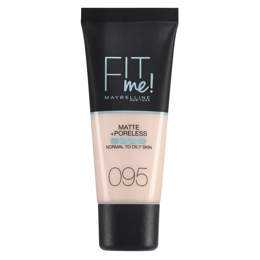 Maybelline Fit Me Makeup Matte + Poreless Foundation, 95 (30 ml Tube)