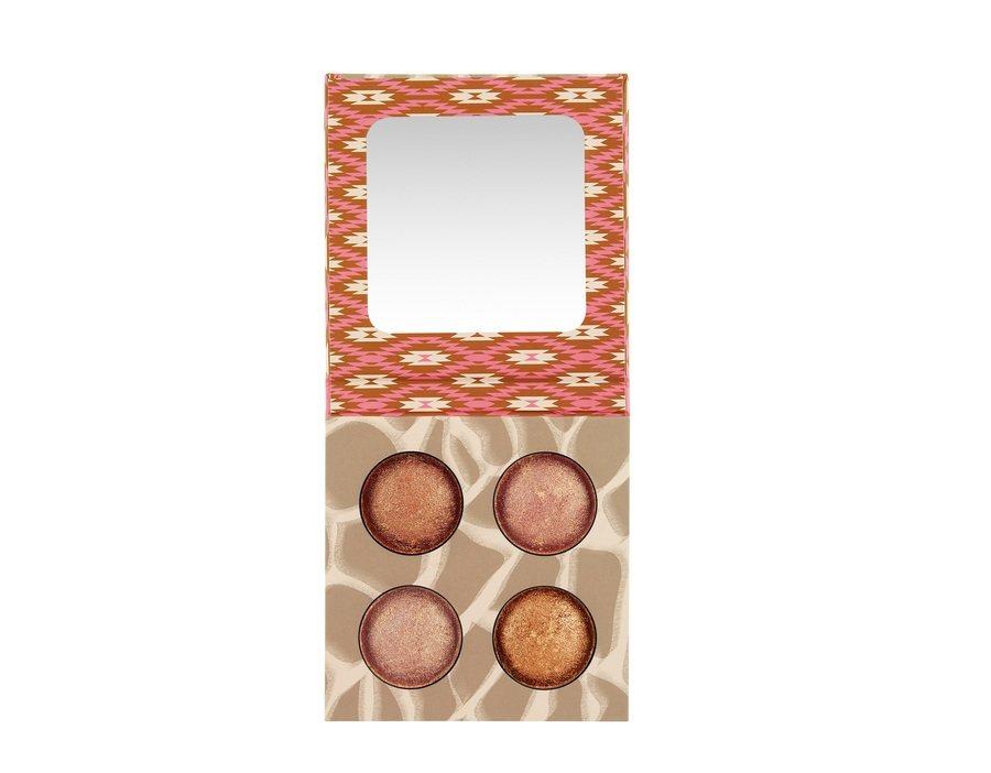 bh Cosmetics Wild & Radiant Baked Illuminating & Bronzing Palette