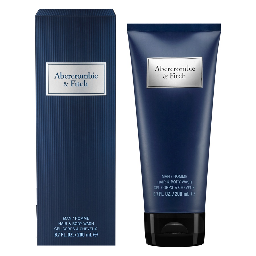 Abercrombie & Fitch Blue Men Hair And Body Wash (200 ml)