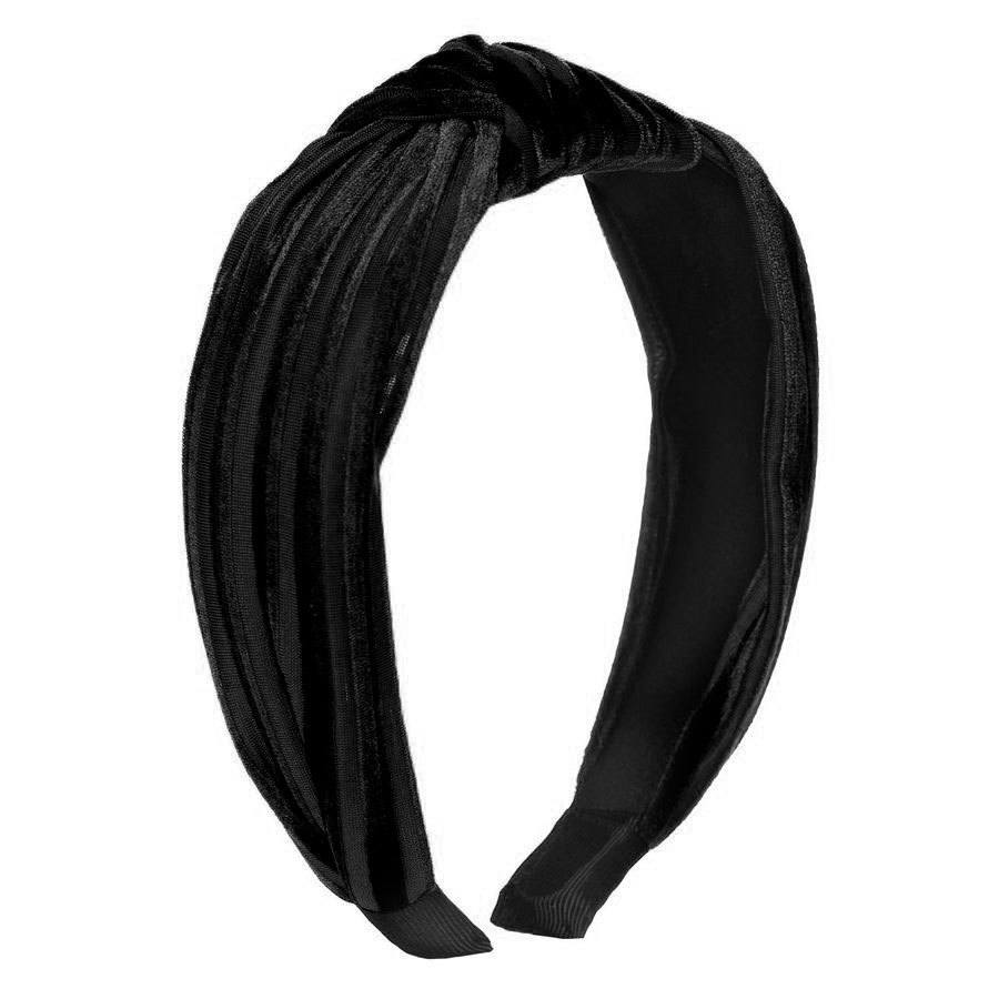 Just D`Lux Hairband Velour, 22 Black