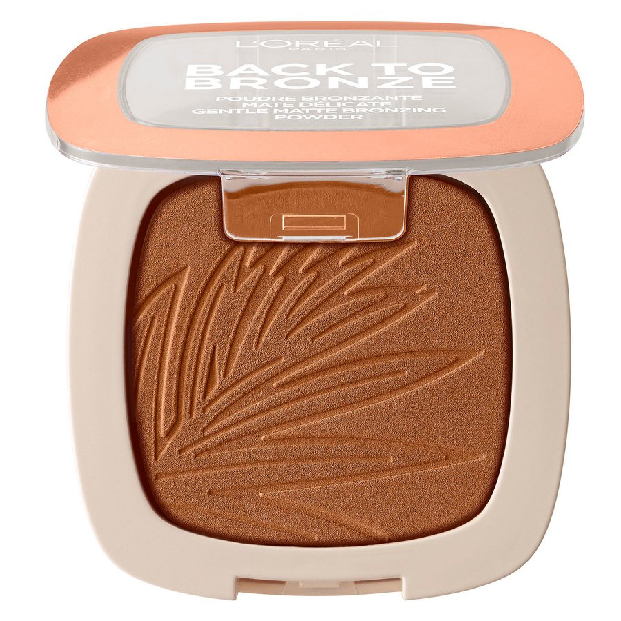 L'Oréal Paris Back To Bronze Matte Bronzing Powder, Sunkiss (9 g)