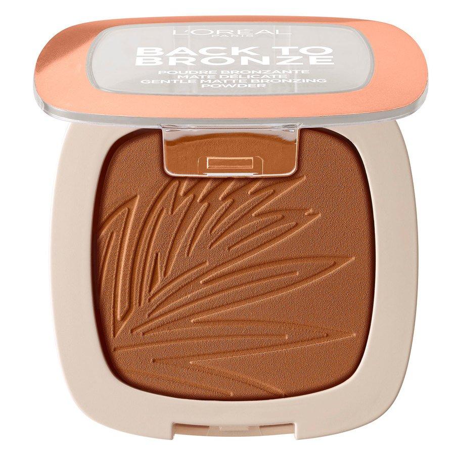 L'Oréal Paris Back To Bronze Matte Bronzing Powder, Sunkiss (9 g)