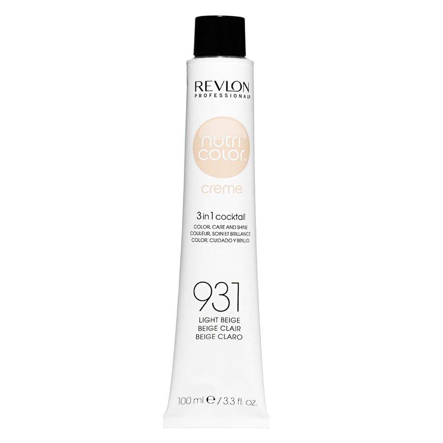 Revlon Professional Nutri Color Creme (100 ml), #931 Beige