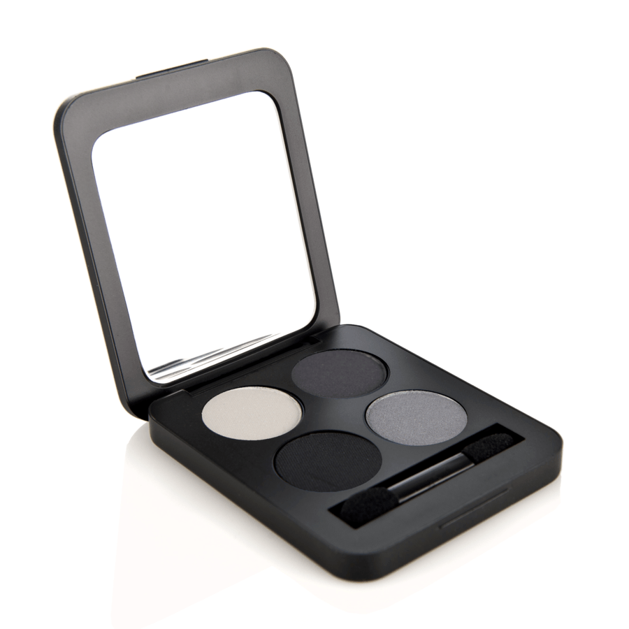 Youngblood Pressed Mineral Eyeshadow Quad (4 g), Starlet