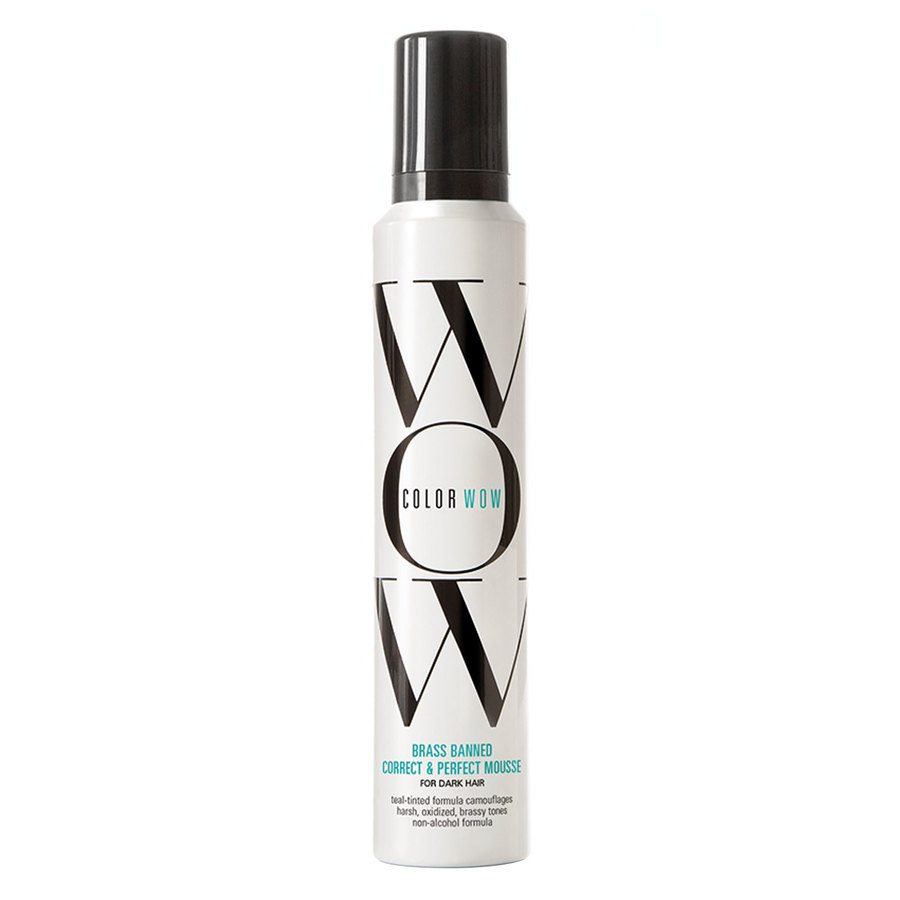 Color Wow Brass Banned Correct & Perfect Mousse For Dark Hair (200 ml)