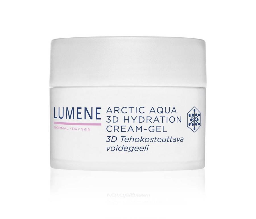 Lumene Arctic Aqua 3D Hydration Cream-Gel, normale/trockene Haut (50 ml)