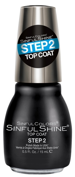 Kylie Jenner Sinful Colors Shine (15 ml), #1600 Topcoat