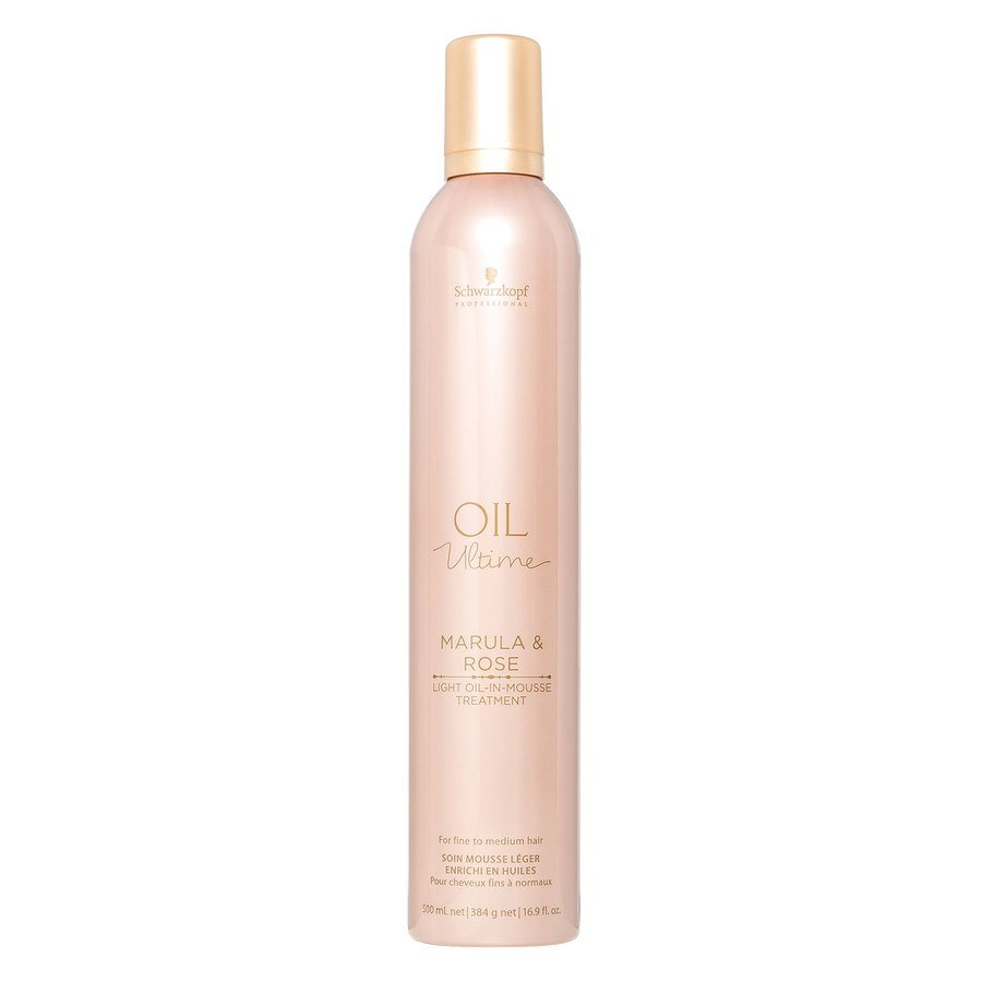 Schwarzkopf Oil Ultime Marula & Rose Light Oil-In-Mousse Treatment (500 ml)