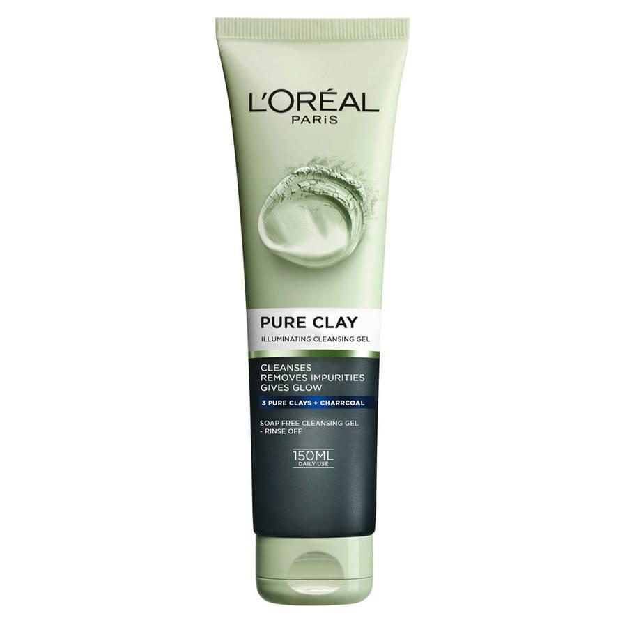 L'Oréal Paris Pure Clay Illuminating Cleansing Gel (150 ml)
