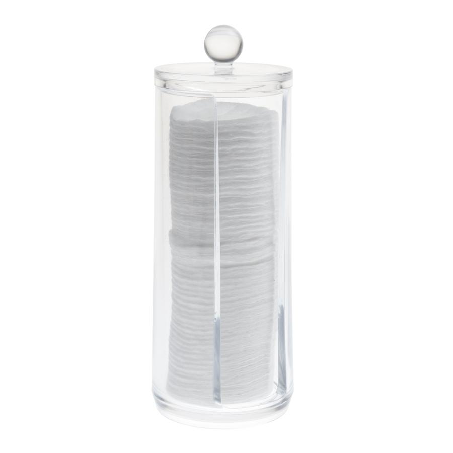 Cosmetic Organizer Wattepad-Box mit Deckel