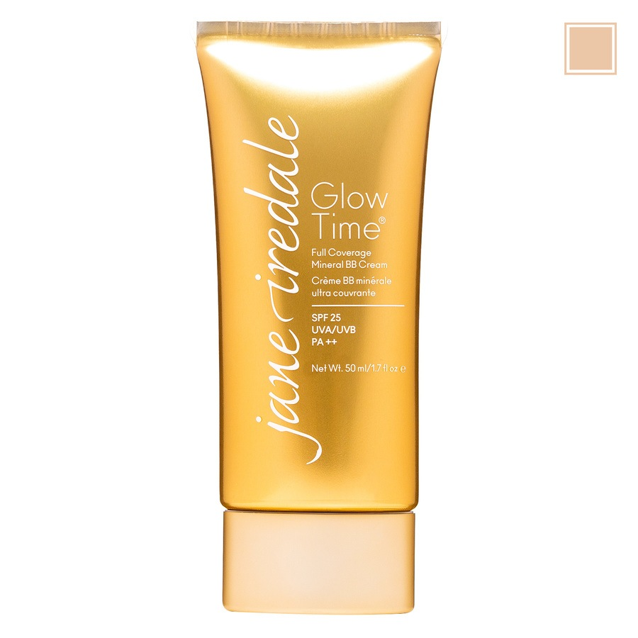Jane Iredale Glow Time Full Coverage Mineral BB Cream BB5 (50 ml), Light-Medium