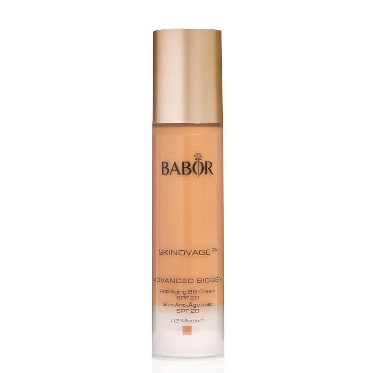 Babor Advanced Biogen Anti-Aging BB Cream LSF 20 (50 ml), 02 Medium