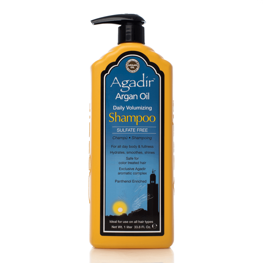 Agadir Argan Oil Daily Volumizing Shampoo Volumengebendes Shampoo (1.000 ml)
