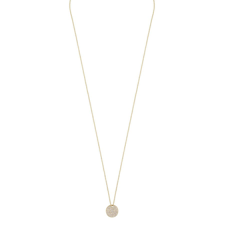 Snö of Sweden Corinne Pendant Necklace, Gold/Clear (60 cm)