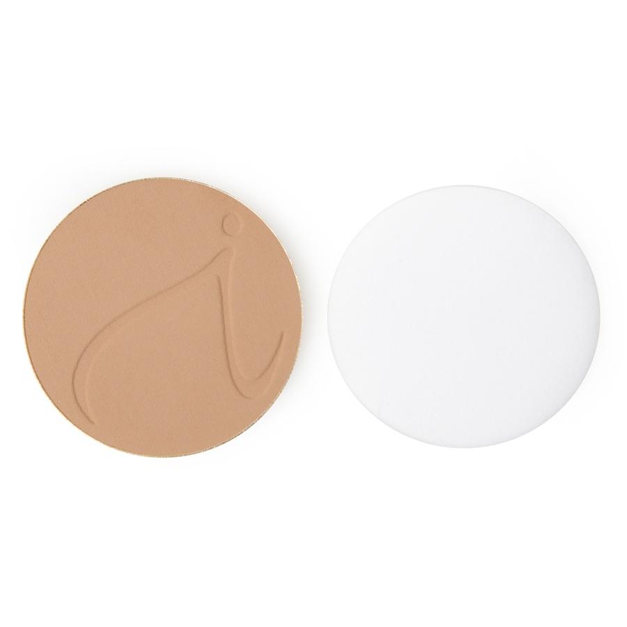 Jane Iredale PurePressed Base Mineralpuder LSF 20 (9,9 g), Nachfüllpack, Latte