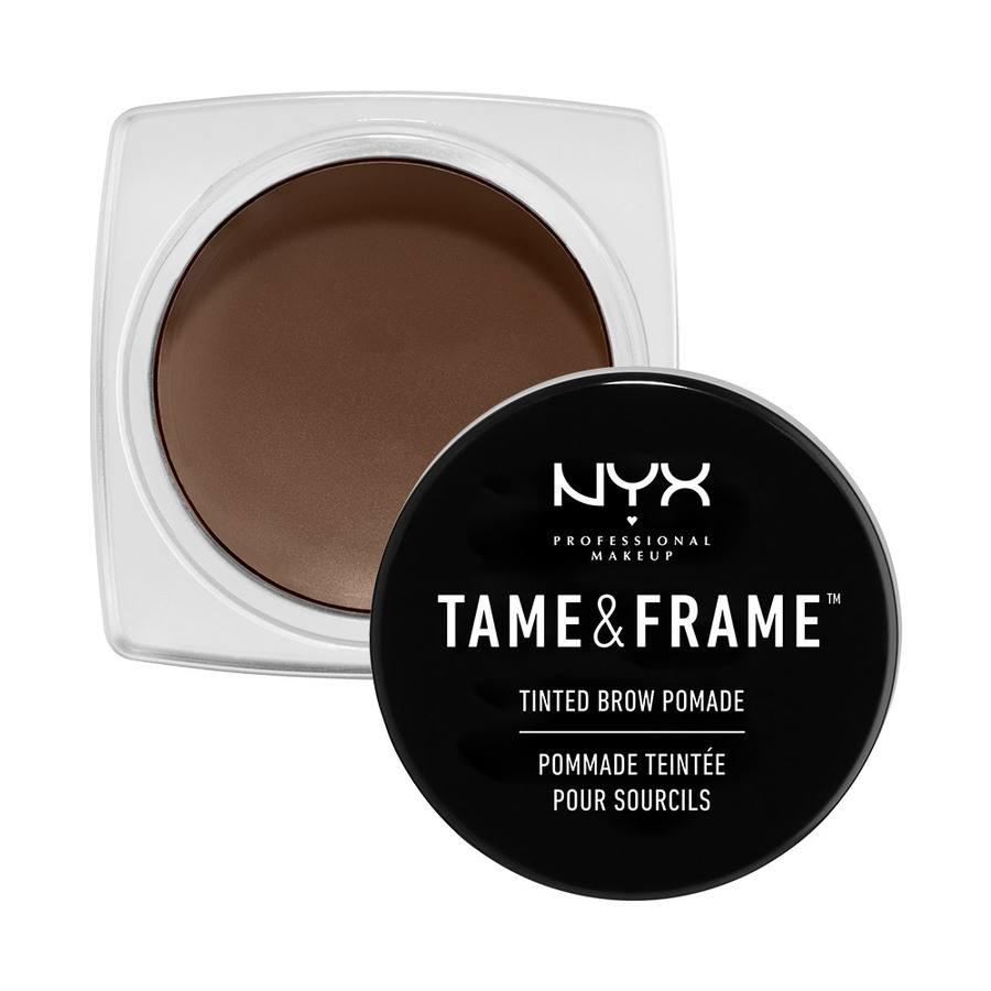 NYX Prof. Makeup Tame & Frame Tinted Brow Pomade, 05 schwarz