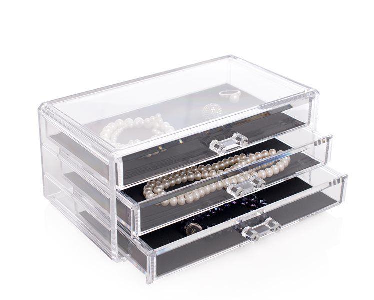 Shelas Jewellery Box – Schmuckkästchen mit drei Schubladen
