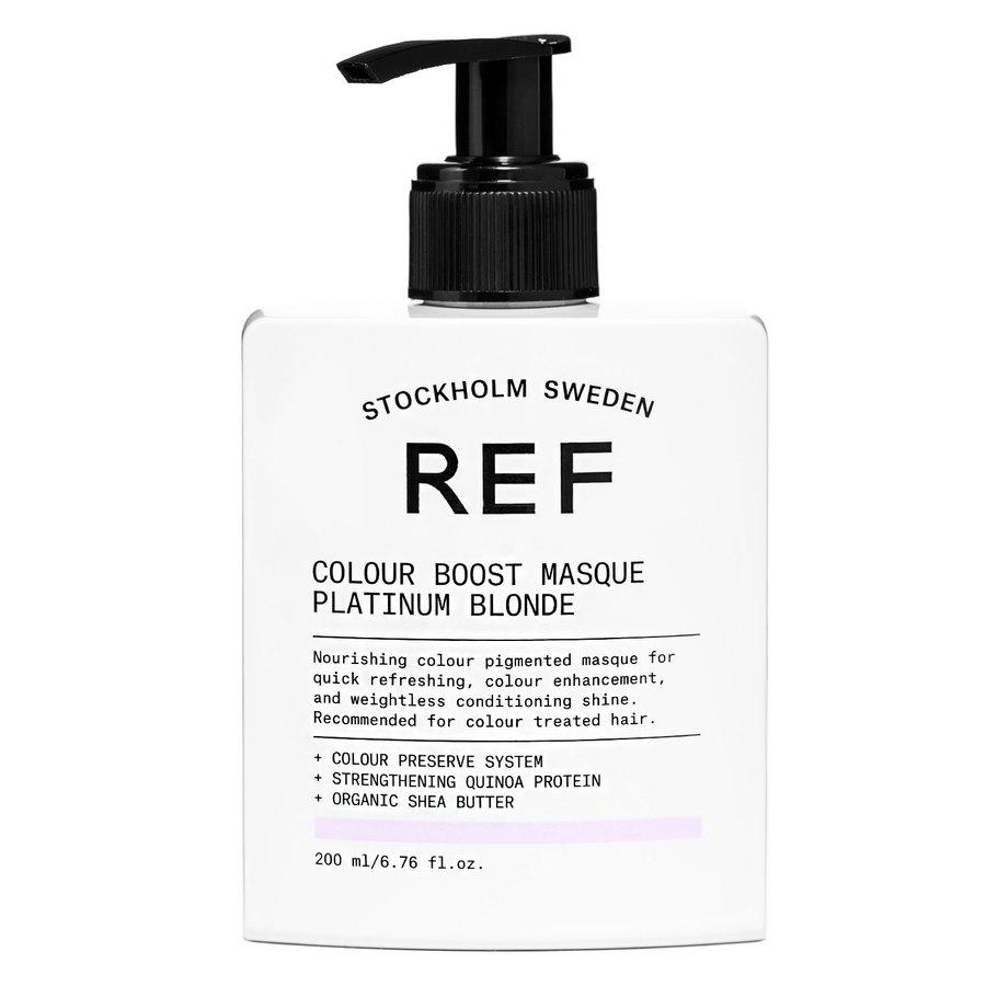 REF Color Boost Masque, Platinum Blonde (200ml)