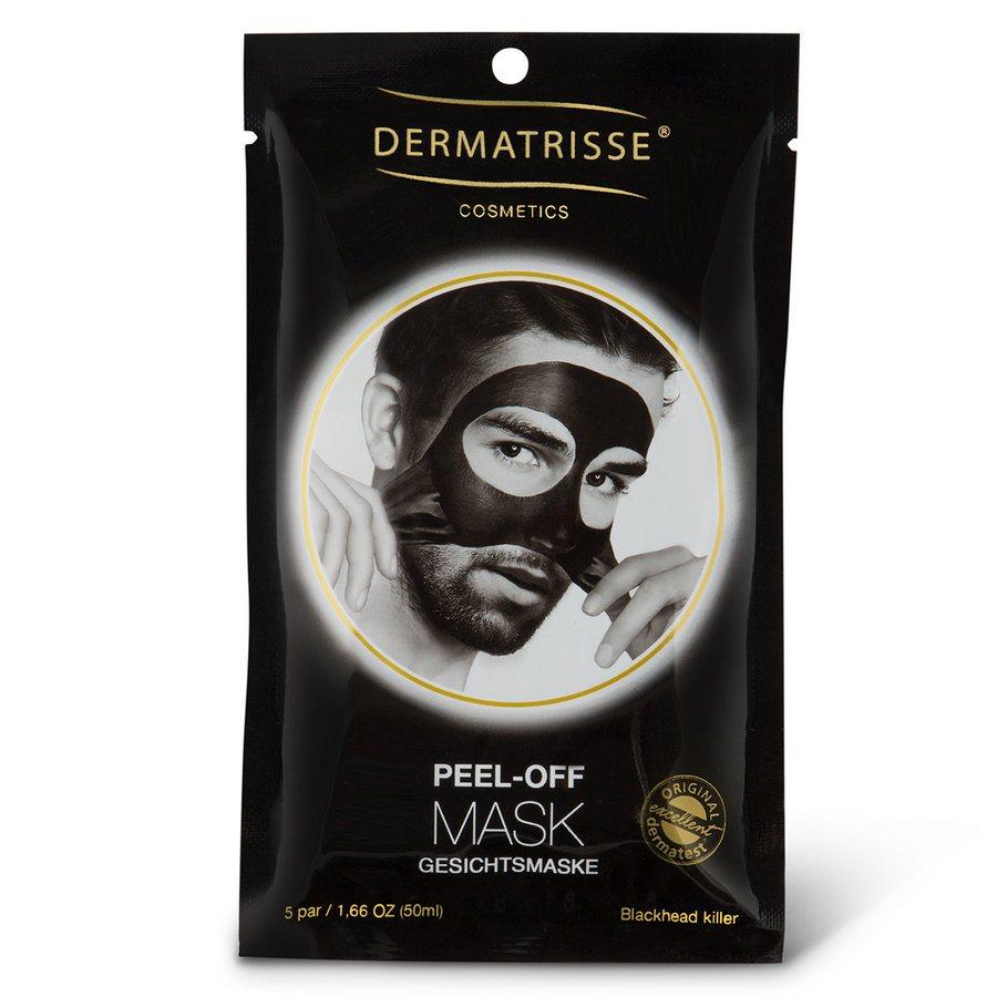 Dermatrisse Facial Peel Off Mask Man (5er Pack)
