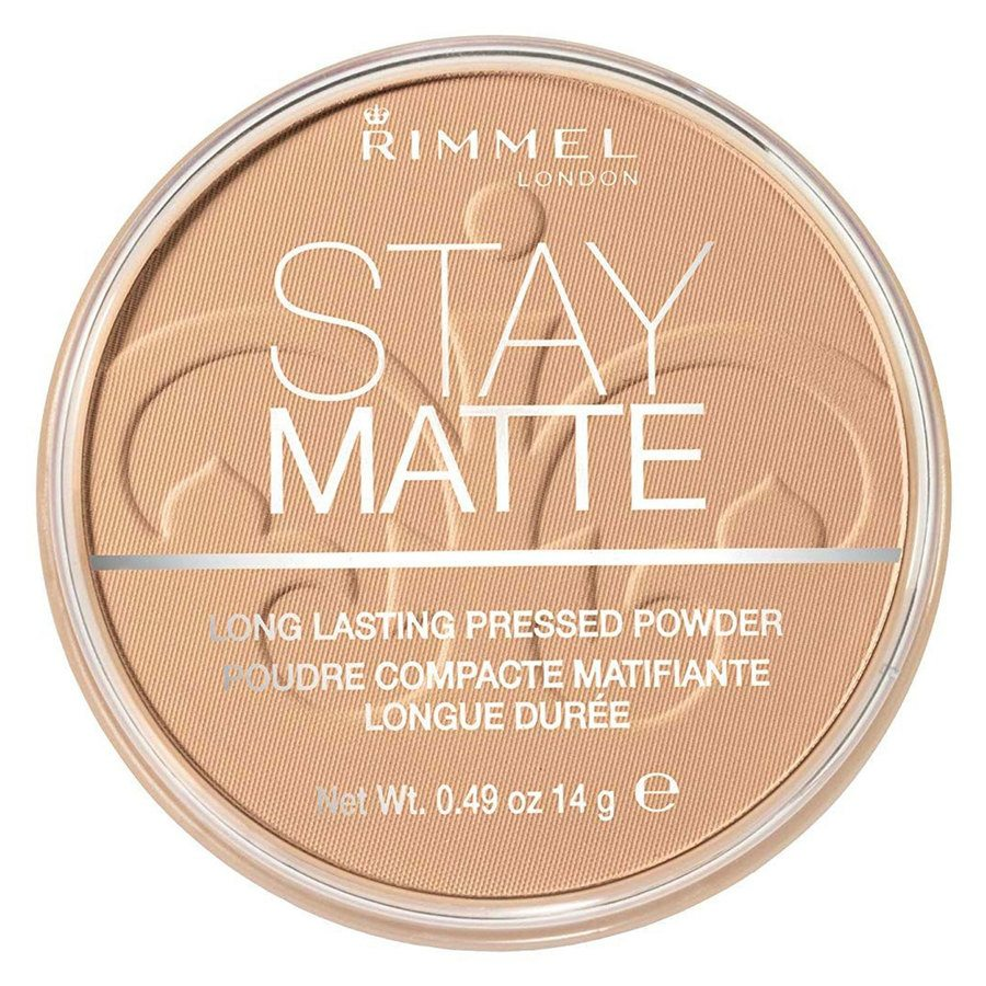 Rimmel Stay Matte Pressed Face Powder, Warm Honey 010 (14 g)