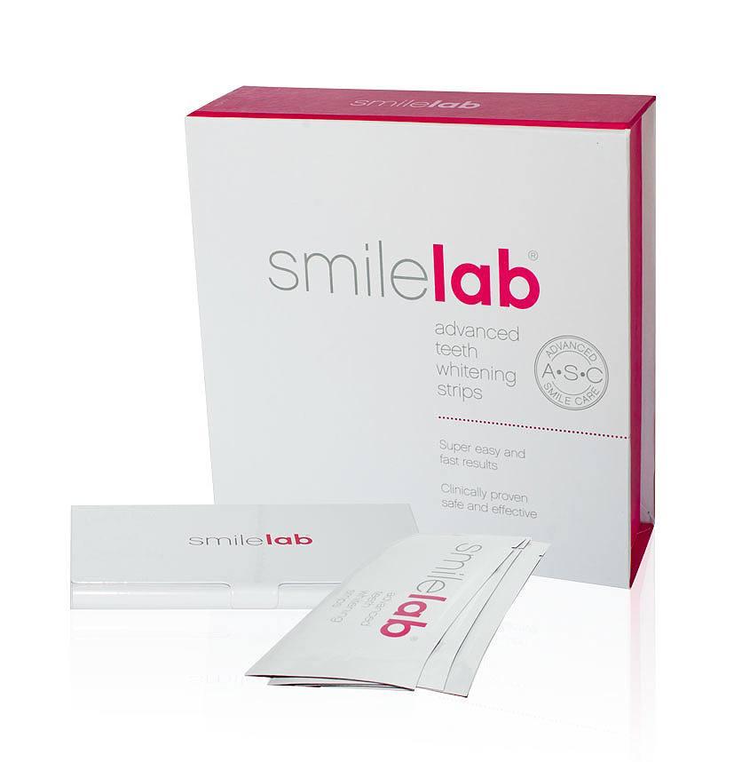 Smilelab Advanced Zahnweiß-Streifen (14 x 2 Stück)