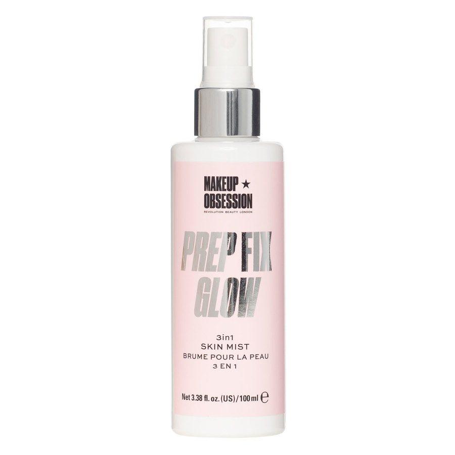 Makeup Obsession Prep Fix Glow Skin Mist 3-In-1 (100 ml)