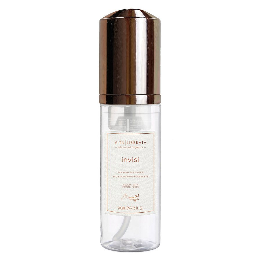 Vita Liberata Invisi Foaming Tan Water, Medium/Dark (200 ml)