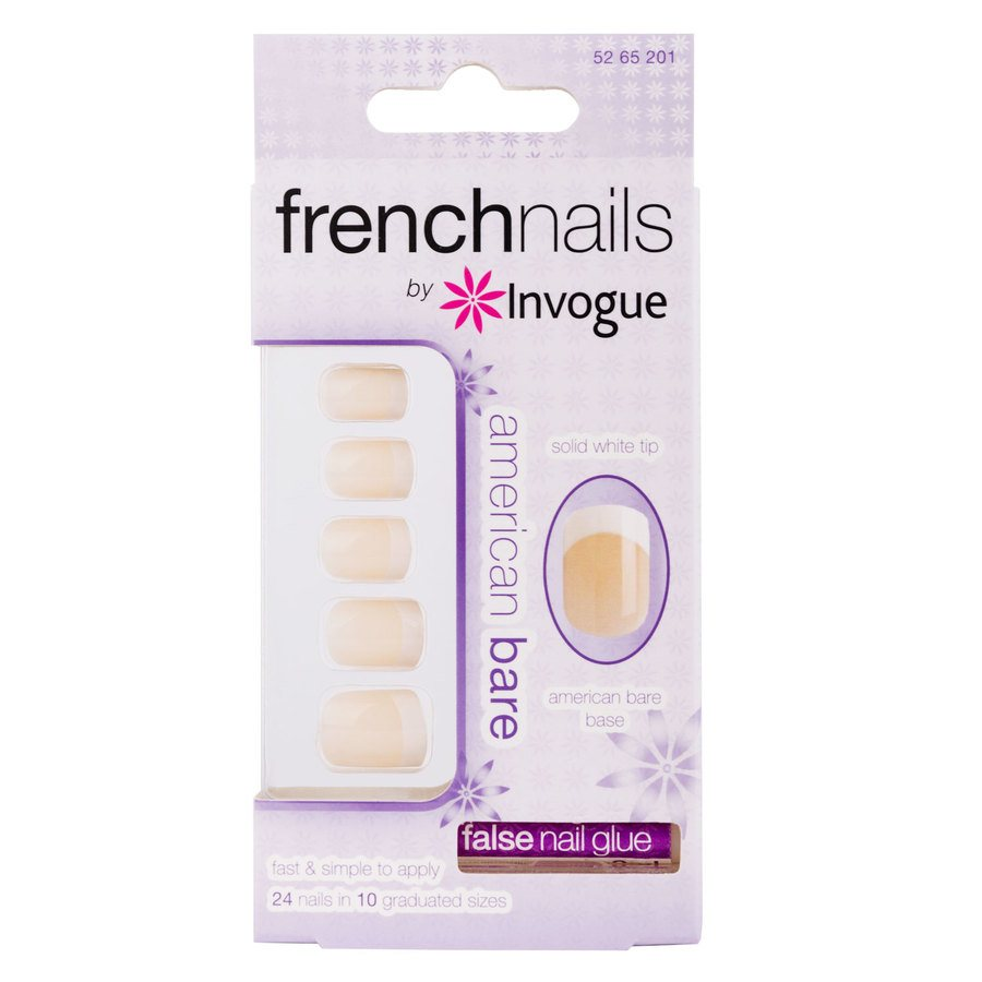 Invogue French Nails, American Bare
