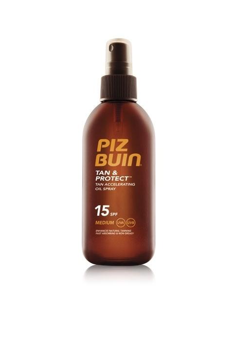 Piz Buin Tan & Protect Oil Spray SPF 15 (150 ml)