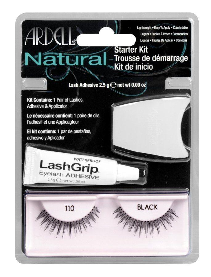 Ardell Natural Fashion Lashes Starter Kit (3 Produkte), 110 Schwarz