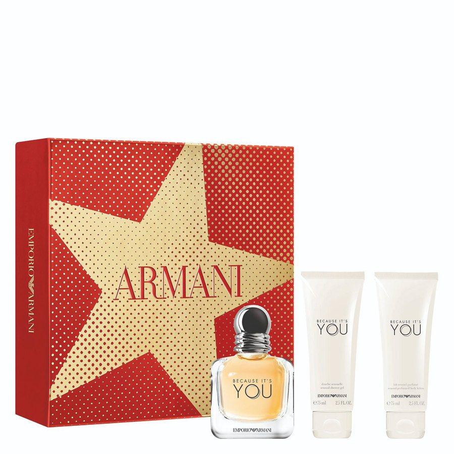 Giorgio Armani Emporio Armani Because It's You Geschenkset