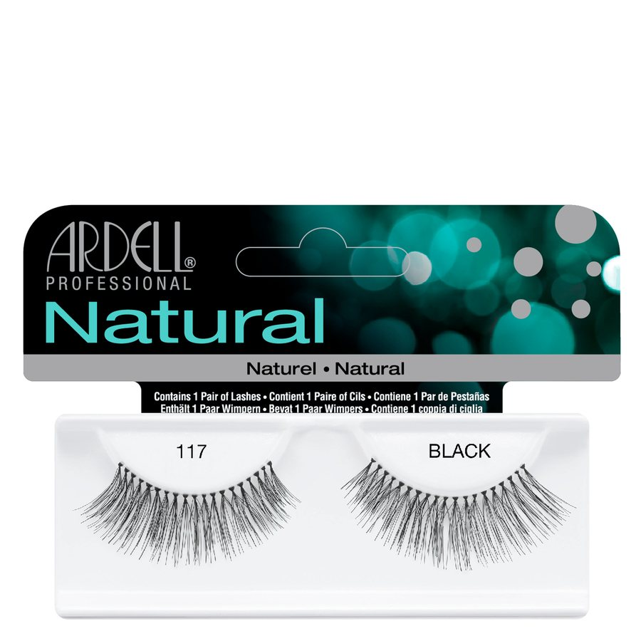 Ardell Natural Fashion Lashes, 117 Schwarz