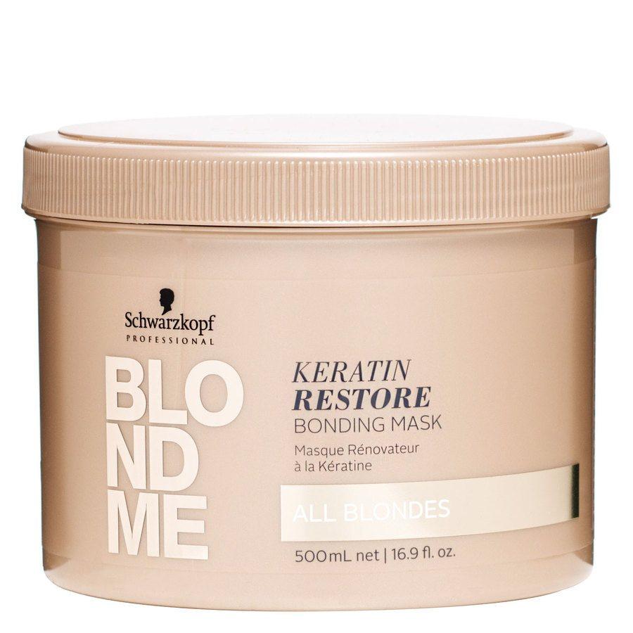 Schwarzkopf Blondme All Blondes Keratin Restore Mask 500ml