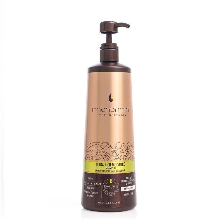 Macadamia Professional Ultra Rich Moisture Shampoo (1000 ml)