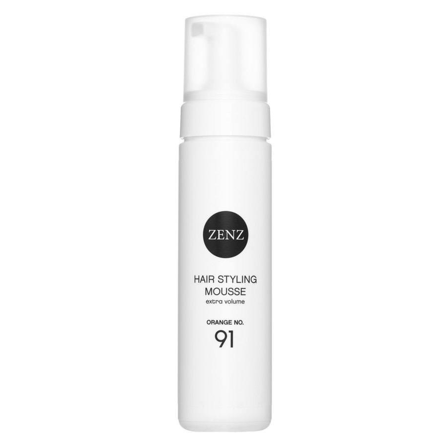 Zenz Organic No. 91 Hair Styling Mousse Extra Volume Orange 200ml
