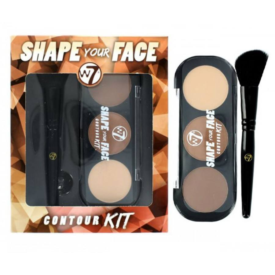 W7 Cosmetics Shape Your Face Contouring-Set