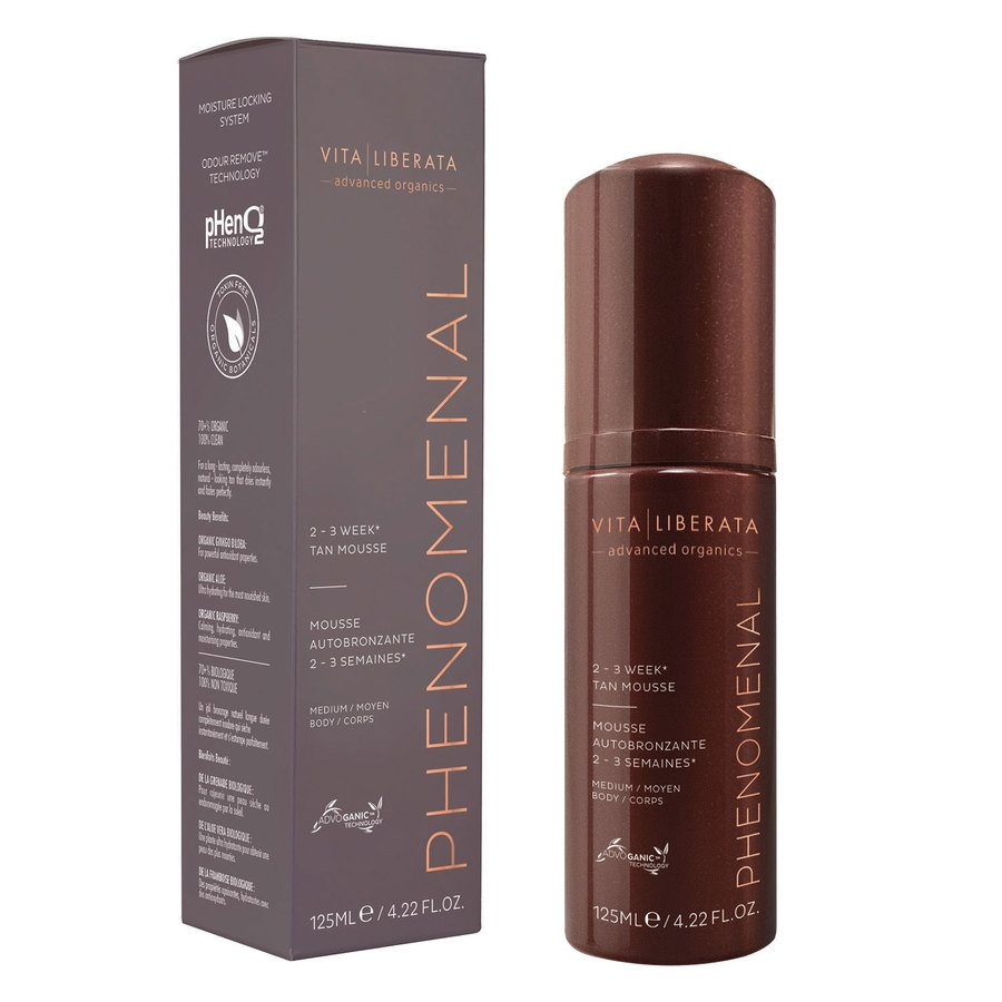 Vita Liberata pHenomenal 2–3 Week Tan Mousse Selbstbräuner 125ml Medium
