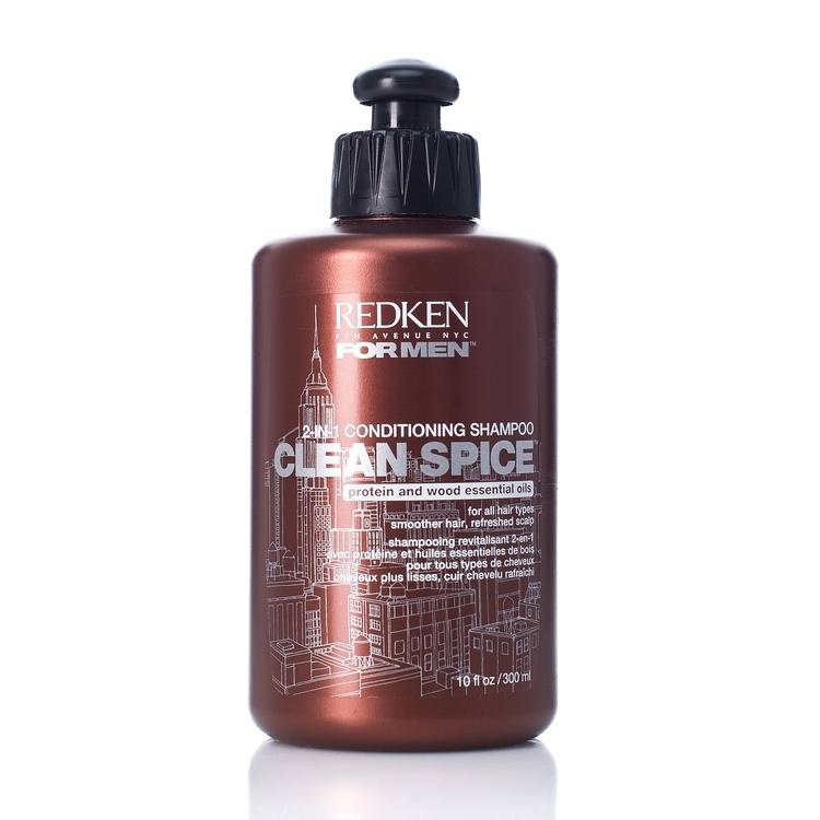 Redken For Men Clean Spice Shampoo (300 ml)