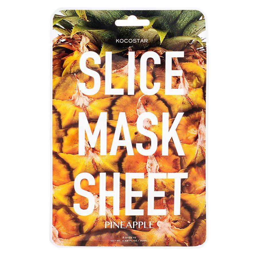 Kocostar Slice Mask Sheet, Pineapple