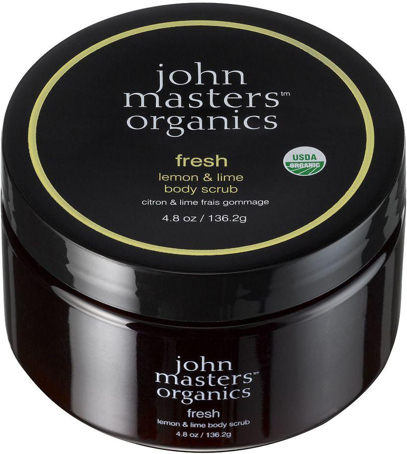 John Masters Organics Fresh Lemon & Lime Body Scrub (136g)