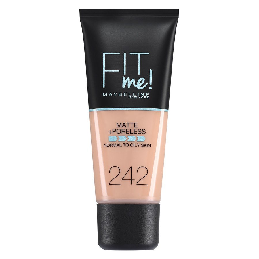 Maybelline Fit Me Matte + Poreless Foundation, Light Honey (30 ml)