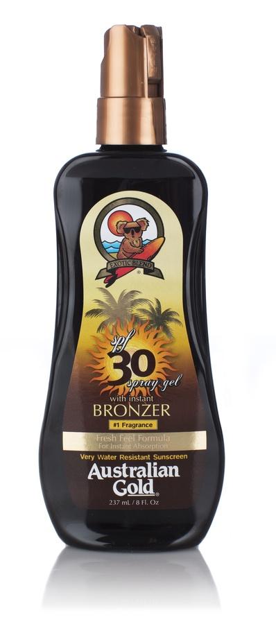 Australian Gold Spray Gel SPF 30 With Instant Bronzer (237 ml)