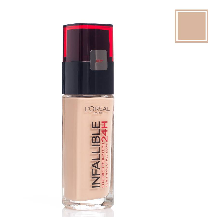 L'Oréal Paris Infallible 24 h Liquid Foundation, Sand 220