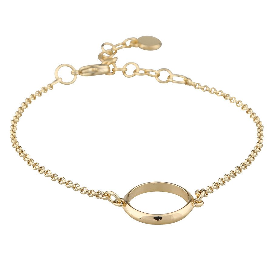 SNÖ of Sweden Gwen Chain Brace Plain Gold