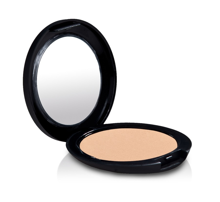 gloMinerals Pressed Base Powder Foundation (9,9 g), Natural Medium