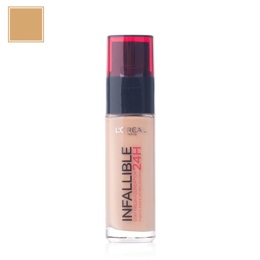 L'Oréal Paris Infallible 24H Liquid Foundation 140 Golden Beige