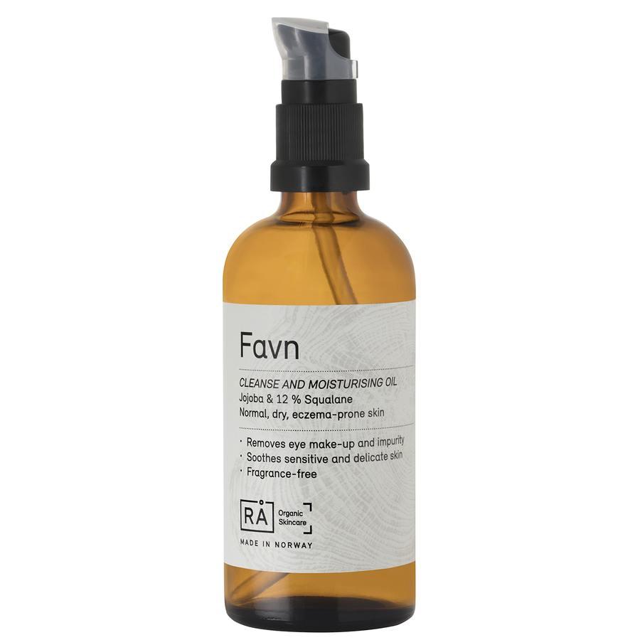 RÅ Organic Skincare Favn Cleanse And Moisturising Oil (100 ml)